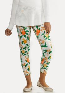 Cropped Citrus Leggings