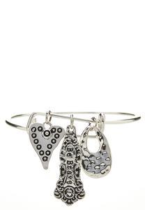 Be Brave Charm Bracelet