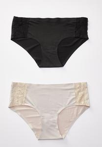 Black Nude Panty Set