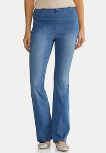 Pull-On Flair Jeans