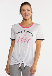 Plus Size Future Is Love Tee