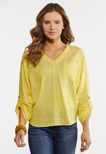 High Low Dolman Top