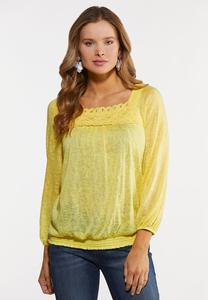Sunshine Smocked Waist Top