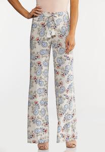 Floral Paisley Pants