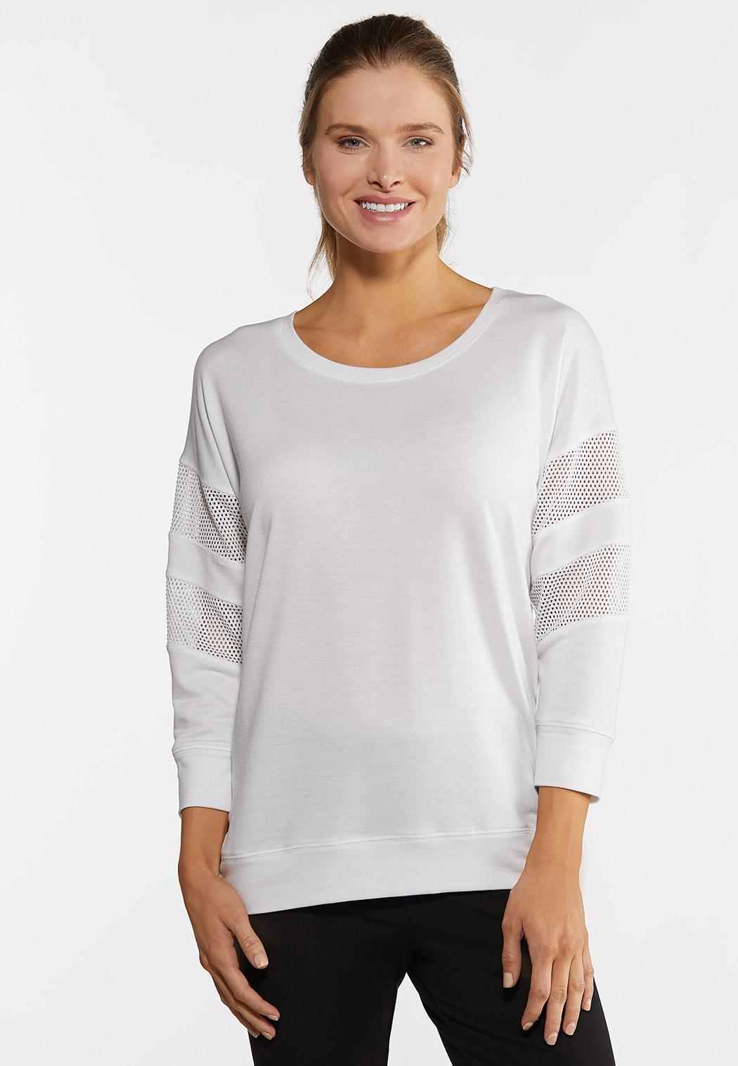 Mesh Sleeve Active Top
