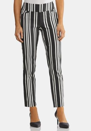 Striped Bengaline Pants