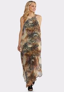 Plus Size Wild About You Maxi Dress