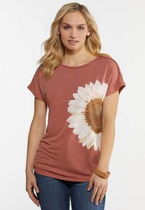 Plus Size Daisy Braided Top
