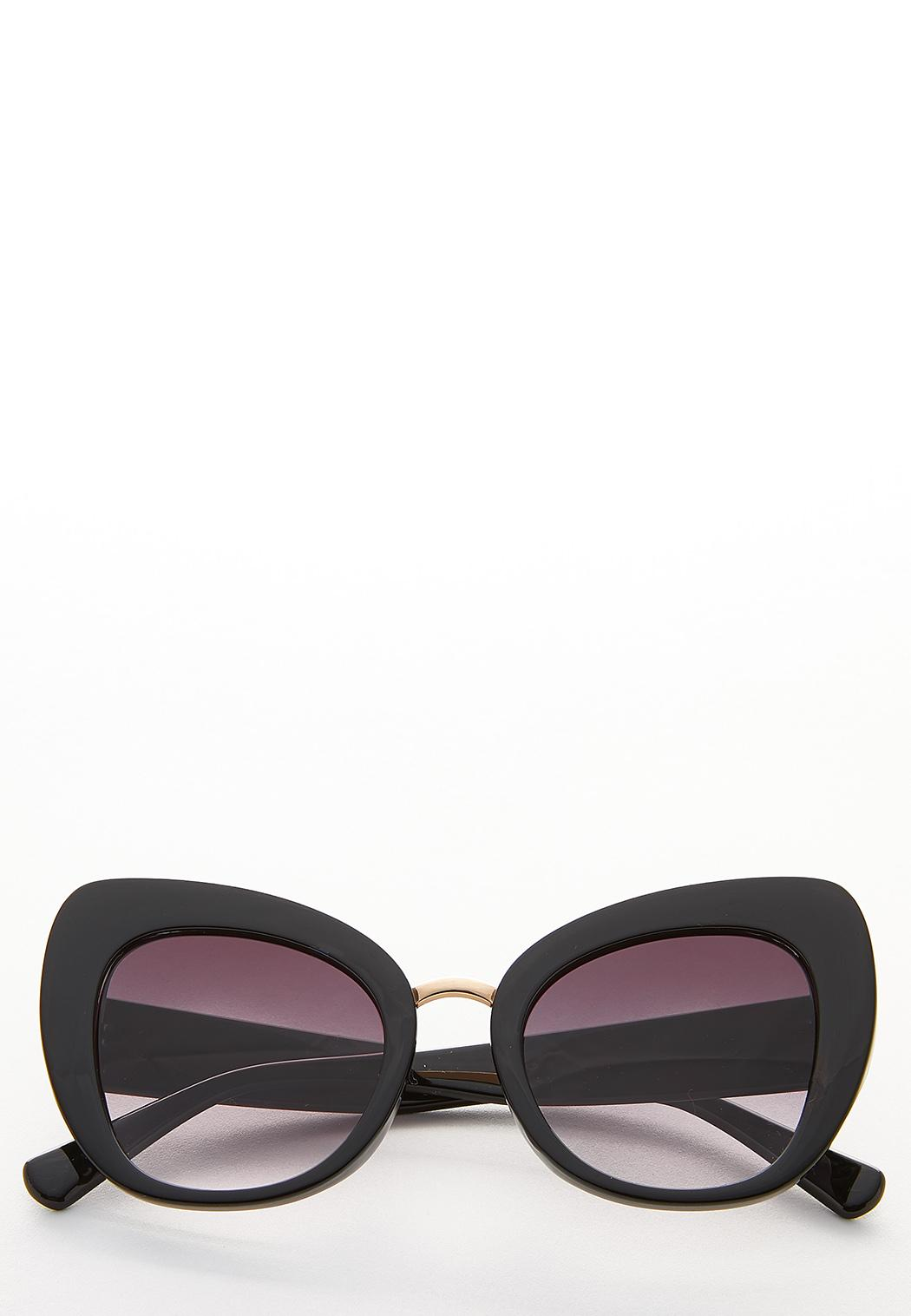 Wide Frame Cateye Sunglasses