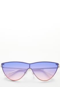 Cateye Shield Sunglasses