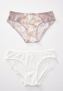 Plus Size Wildflower Panty Set