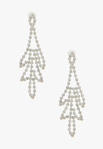Rhinestone Chandelier Earrings
