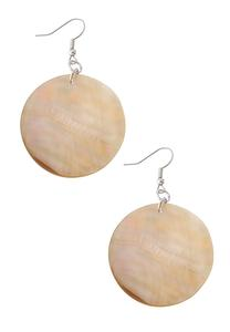 Rounded Shell Earrings