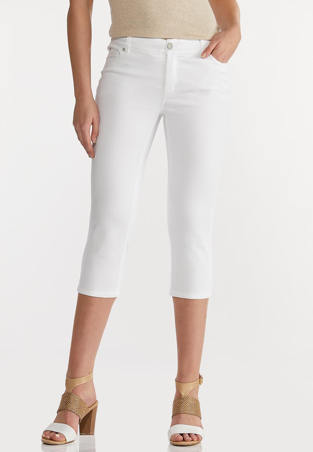 The Perfect Cropped Jeans