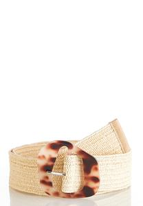Straw Stretch Belt