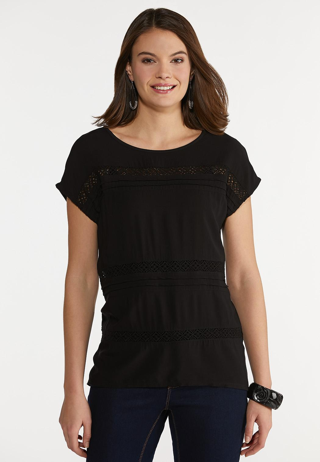 Lacy Panel Top