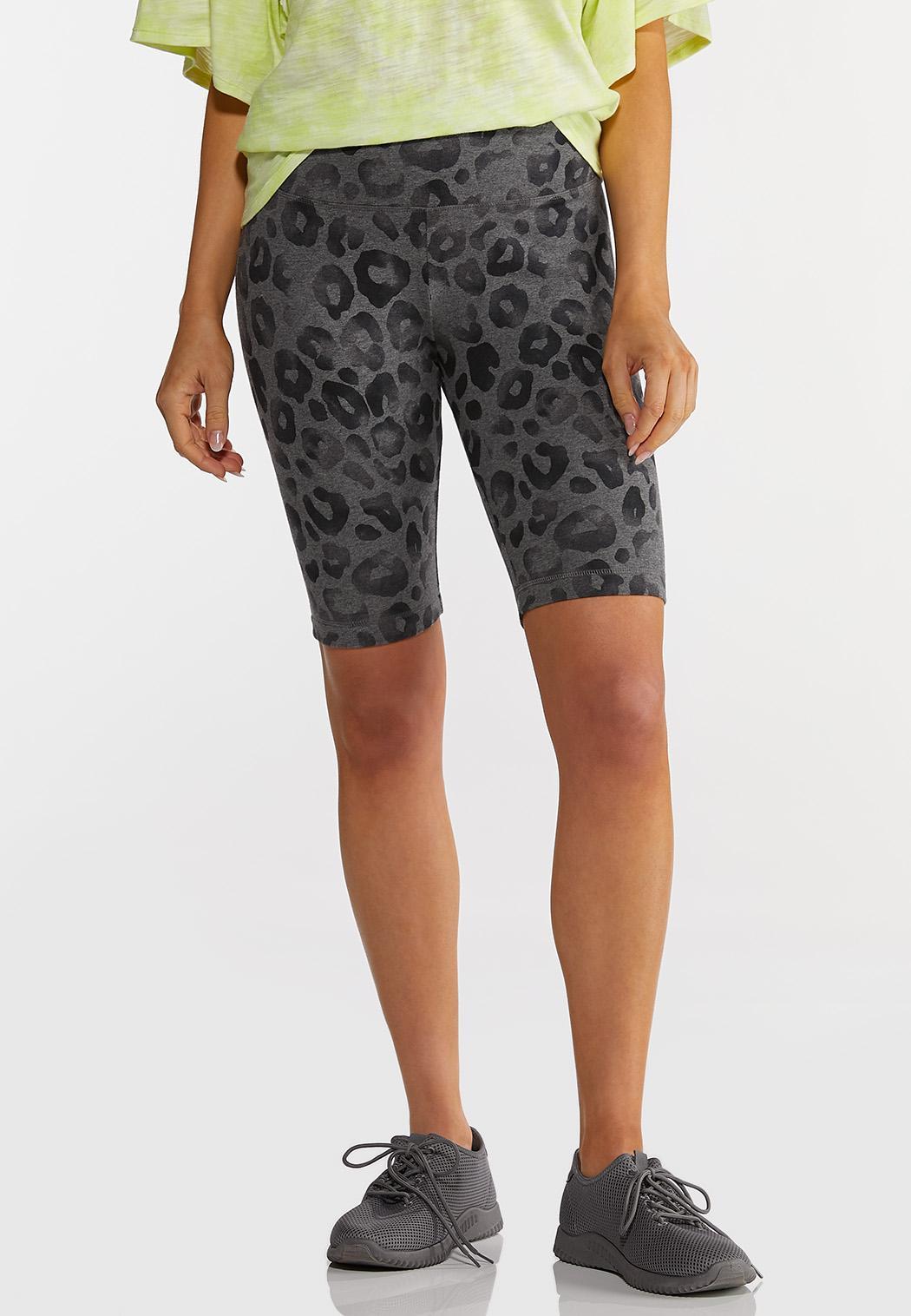 Leopard Bike Shorts