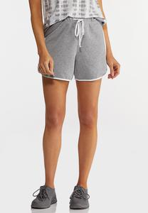 Gray Athleisure Shorts
