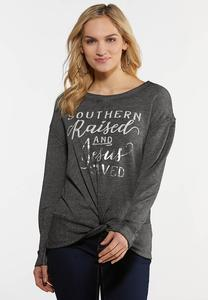 Plus Size Southern Girl Top