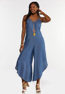 Chambray Genie Jumpsuit