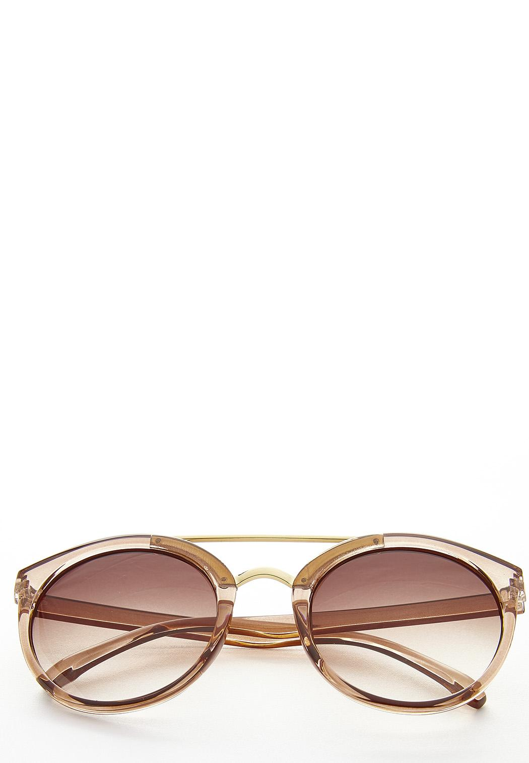 Lucite Aviator Sunglasses