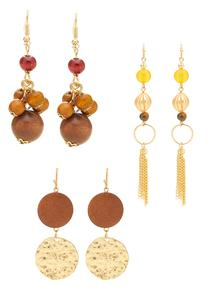 Assorted Dangle Earring Set