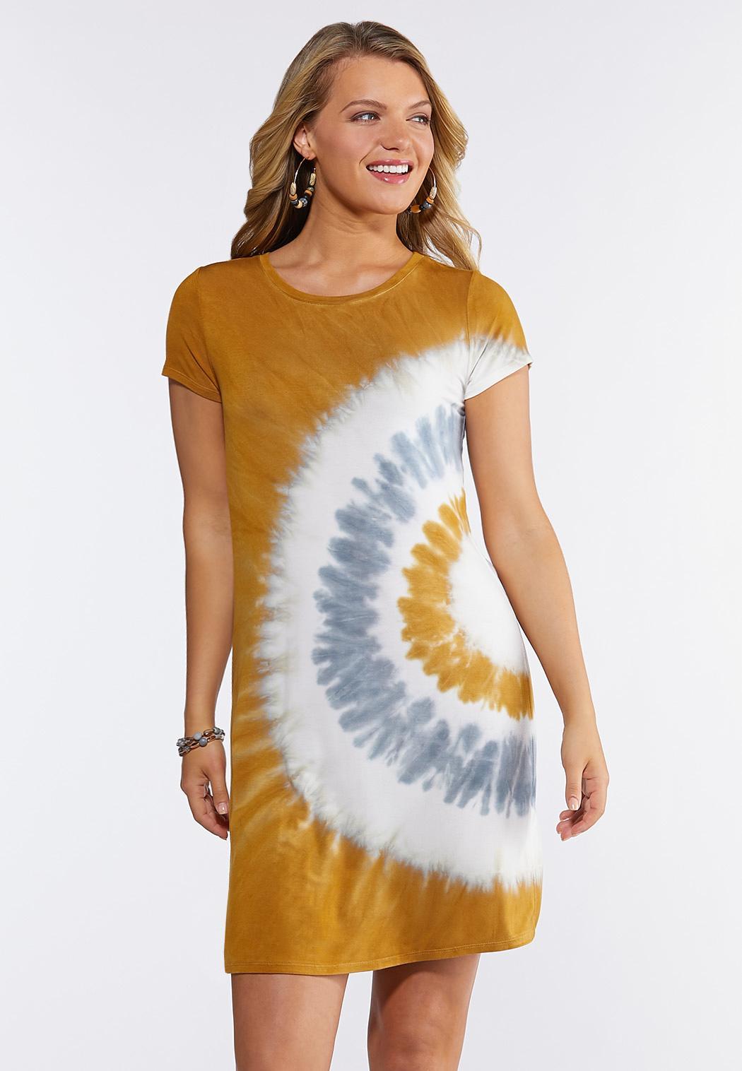 Sunny Tie Dye Swing Dress