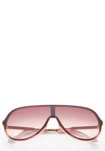 Lucite Shield Sunglasses