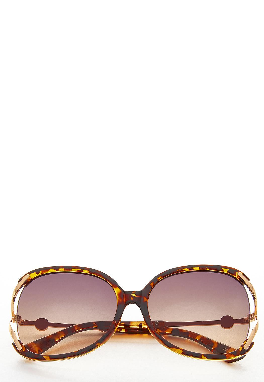 Vented Tortoise Sunglasses