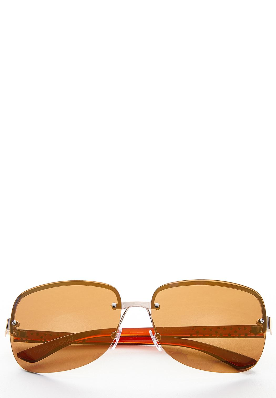 Stone Arm Rimless Sunglasses