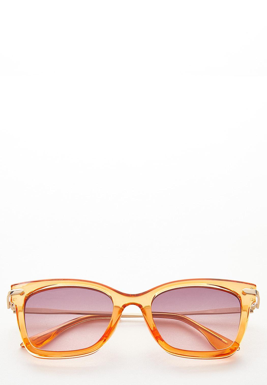 Colored Lucite Fashion Sunglasses