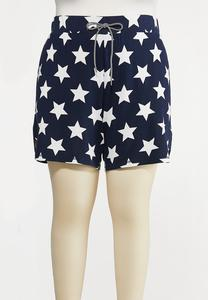 Plus Size American Star Shorts