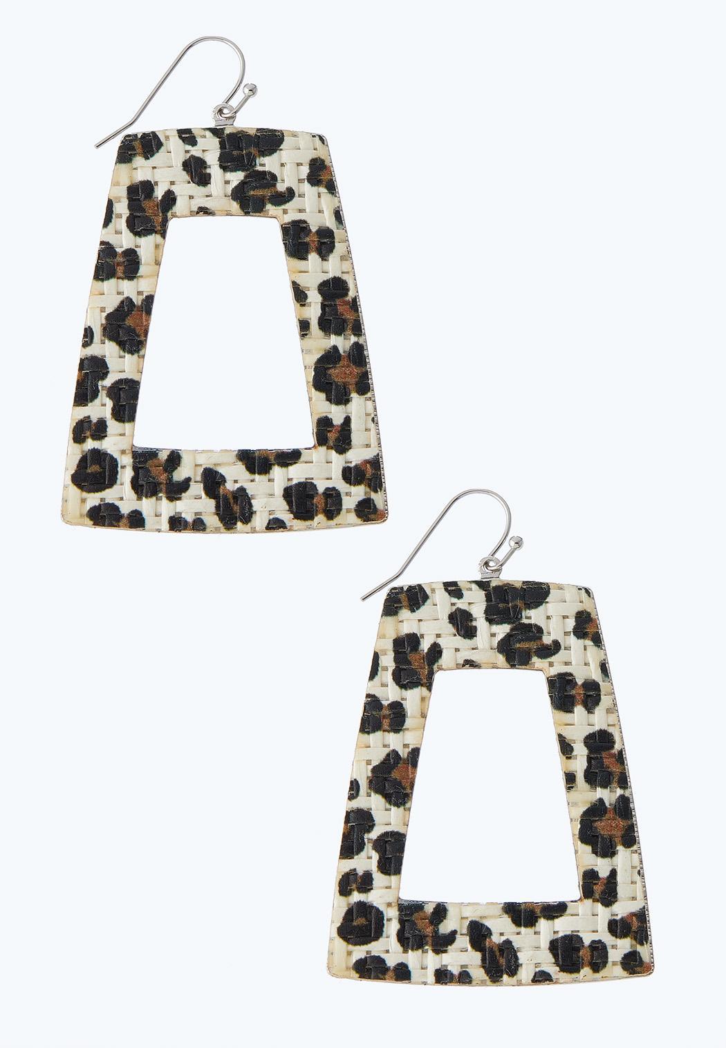 Geometric Animal Earrings