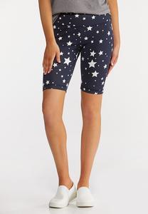 Star Biker Shorts