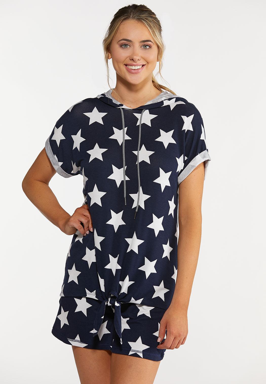 American Star Hooded Top