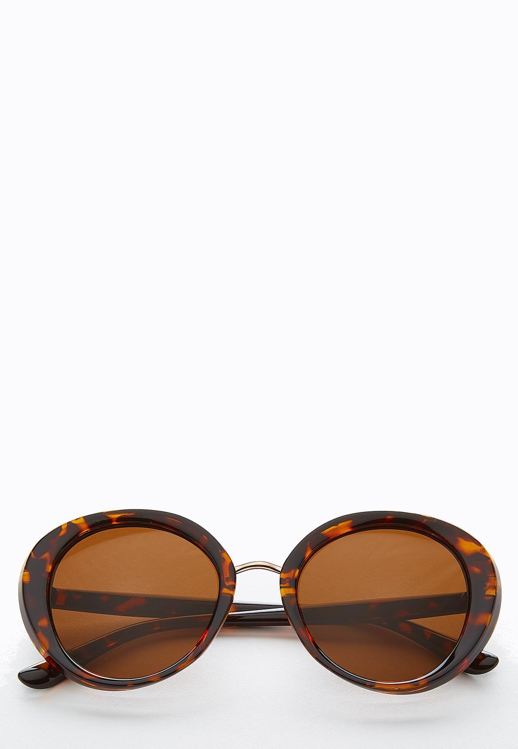 Capetown Round Tort Sunglasses