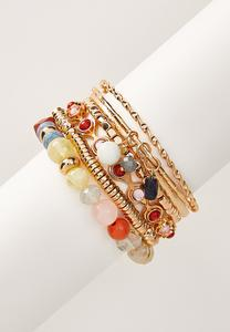 Gypsy Bead Bracelet Set