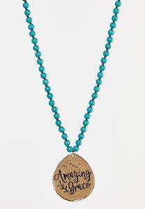 Amazing Grace Pendant Necklace