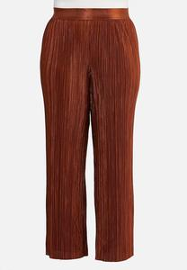Plus Size Pleated Pants