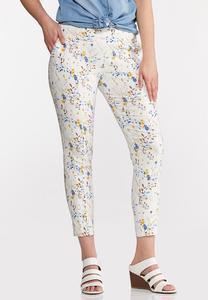 Wild Floral Bengaline Pants
