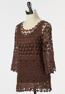 Crochet Pullover Top