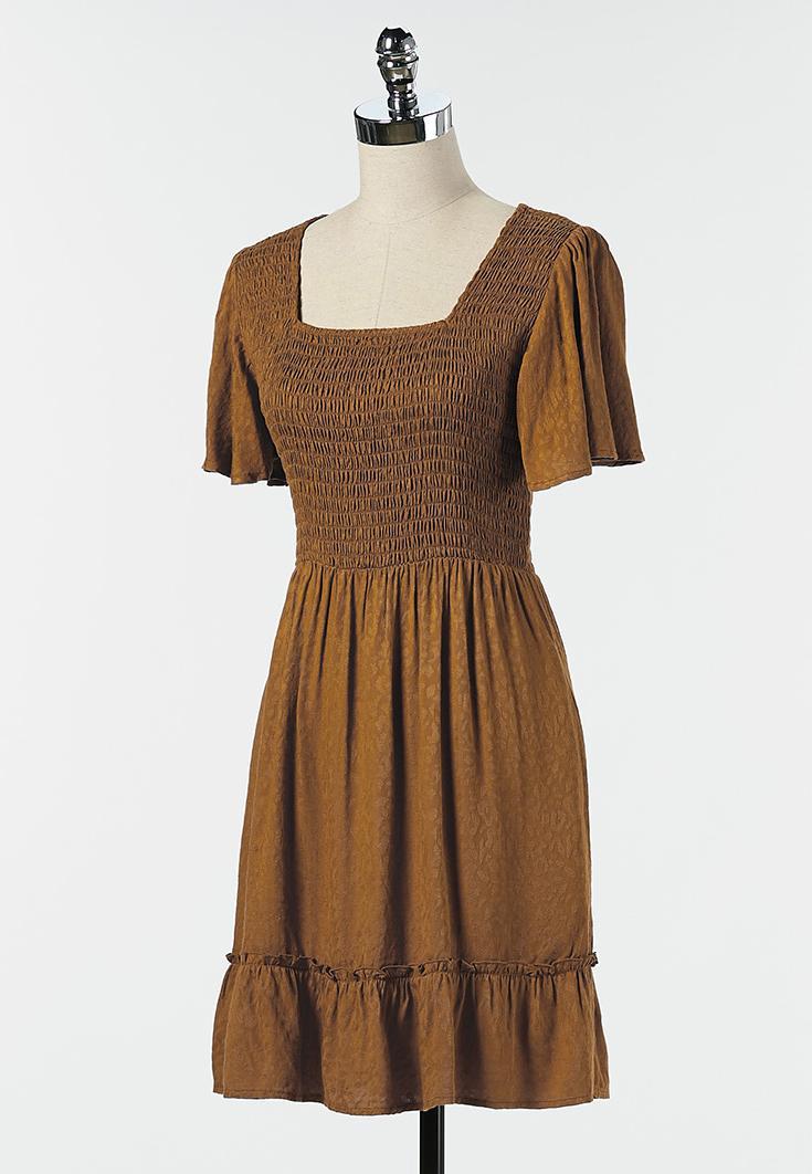 Smocked Babydoll Dress