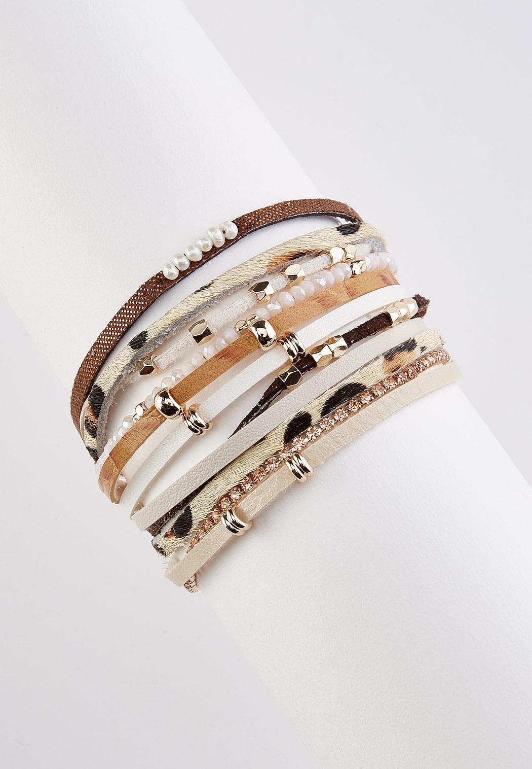 Strappy Safari Faux Suede Bracelet