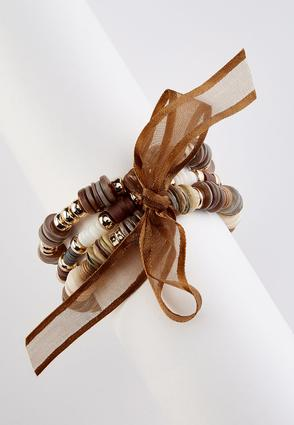 Tied With A Ribbon Stretch Bracelet Set