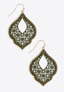 Moroccan Cutout Earrings