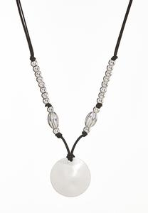 Knotted Pendant Necklace