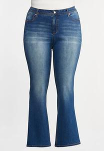 Plus Size Curvy Bootcut Jeans