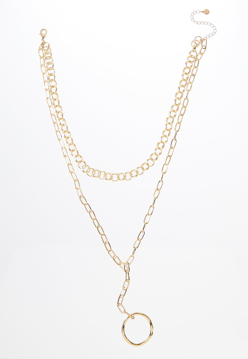 Chunky Chain Y-Necklace
