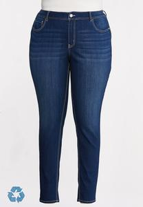 Plus Petite High-Rise Jeggings