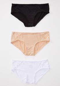 Plus Size Classic Panty Set